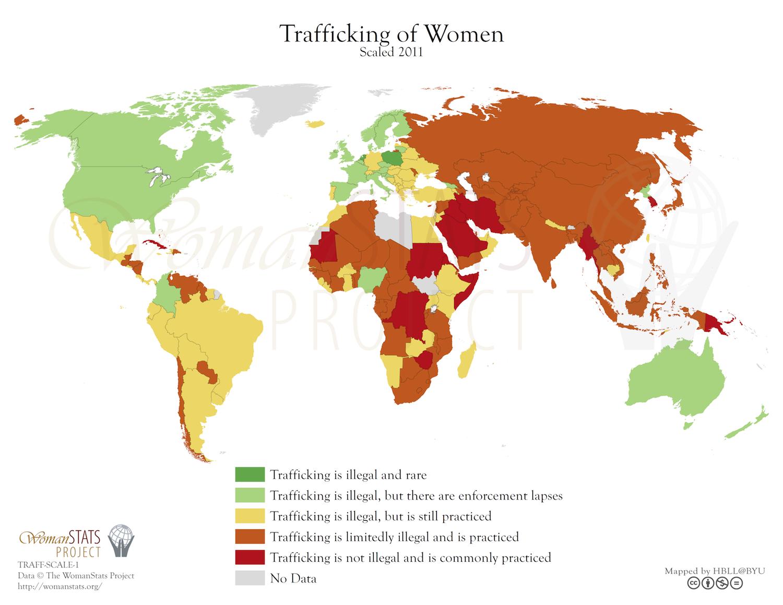 Trafficking of women